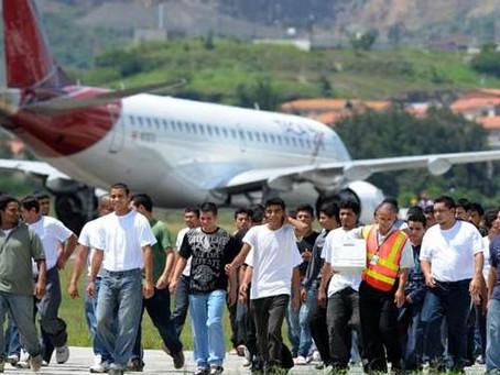 Más de 28 mil hondureños ilegales han sido deportados durante el 2017