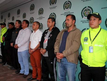 Migración Colombia captura banda de Coyotes que operaba en la frontera de Ecuador