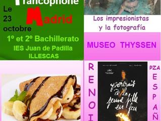 Journée francophone à Madrid