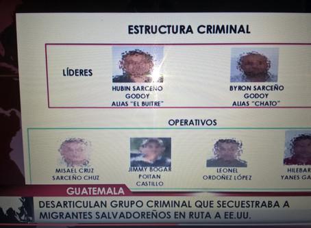 Fiscalía de Guatemala desarticula banda que secuestraba migrantes salvadoreños