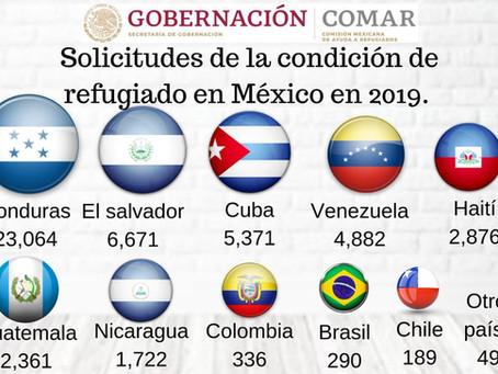 ¿A cuántos cubanos les ha negado la COMAR su solicitud de refugio en México y por qué?