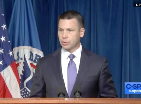 Kevin McAleenan anuncia fin del Catch and Release para familias centroamericanas.