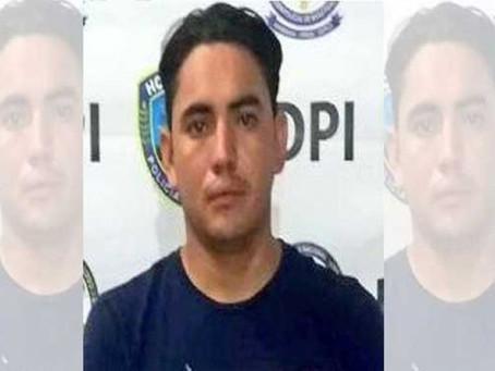 Coyote arrestado en Choluteca por la Policía hondureña