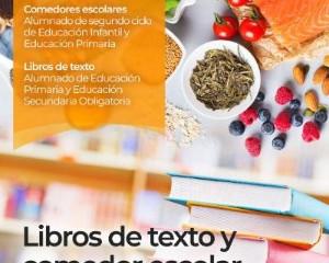 Convocatoria de ayudas  Libros de texto. Curso 2021/2022