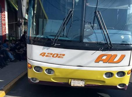 30 ilegales guatemaltecos que viajaban en Autobús de la AU fueron detenidos en Orizaba