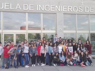 Excursión al Museo de las Matemáticas,π-ensa