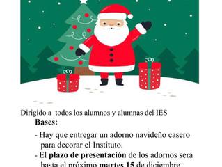 """Concurso: """"Decora el Padilla para Navidad"""""""