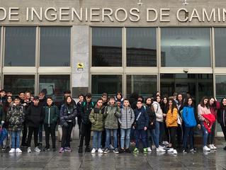 Visita al museo Pi-ensa de las matemáticas(UPM)