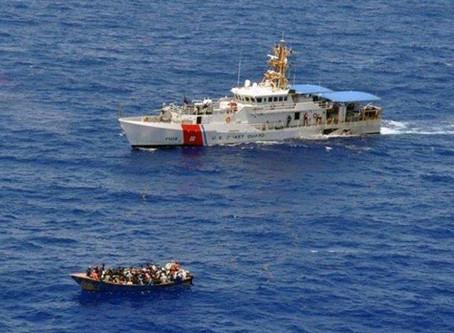 Armada Dominicana atrapa en este año a 169 Coyotes por vía marítima