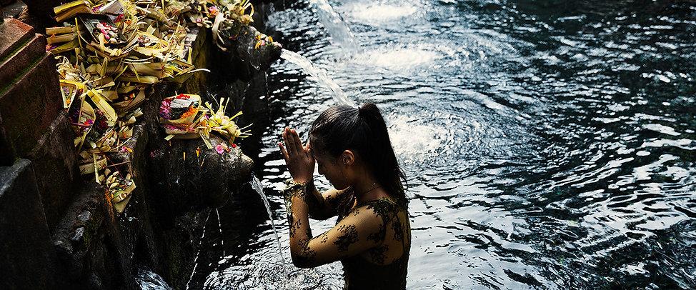 COMO Shambhala Estate Wellness water purification indonesia bali the peaks