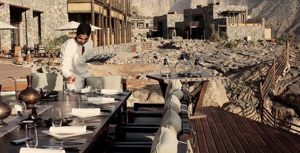 Alila Jabal Akhdar - Restaurant - Junipe
