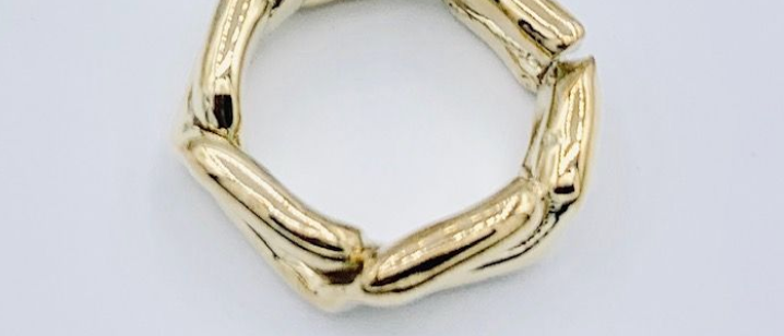 Twist Ring Brass