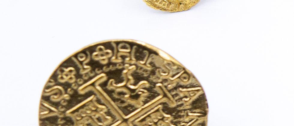Spanish Coin Ring Brass