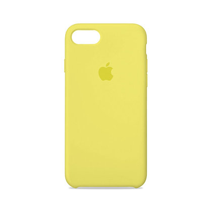 Силиконовый чехол для iPhone 8/7 (Желтый)