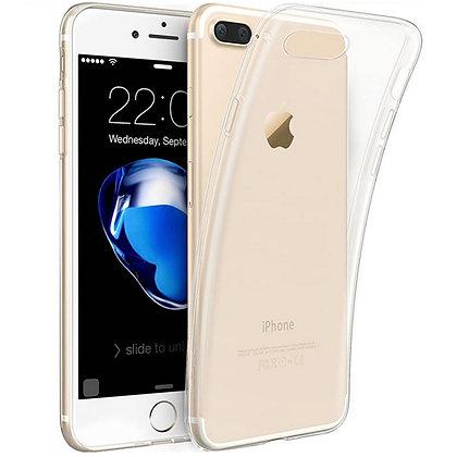 Силиконовый чехол прозрачный iPhone 7plus/ 8plus