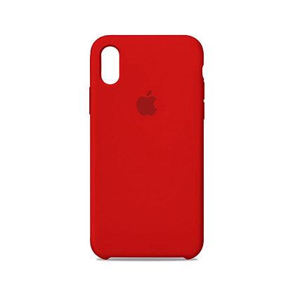 Силиконовый чехол для iPhone XR (Красный)