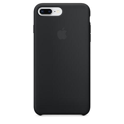 Силиконовый чехол для iPhone 8 Plus/7 Plus (Черный)