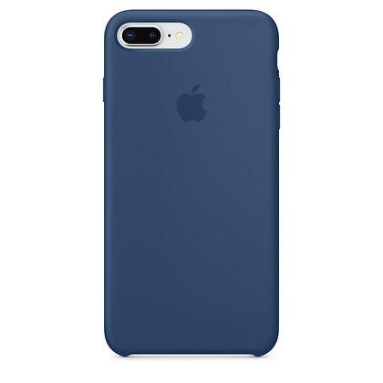 Силиконовый чехол для iPhone 8 Plus/7 Plus (Темный Кобальт)