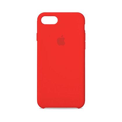 Силиконовый чехол для iPhone 8/7 (Красный)