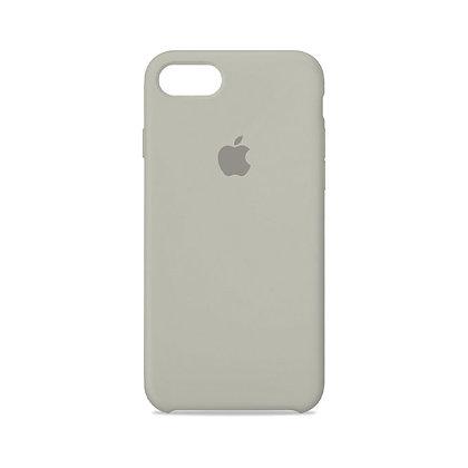 Силиконовый чехол для iPhone 8/7 (Серый)