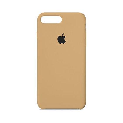 Силиконовый чехол для iPhone 8 Plus/7 Plus (Песочный)