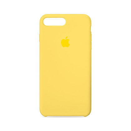 Силиконовый чехол для iPhone 8 Plus/7 Plus (Желтый)