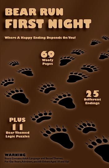 LogcalBear.com first gaybear book about a gay cub navigating his first Gay Bear Run