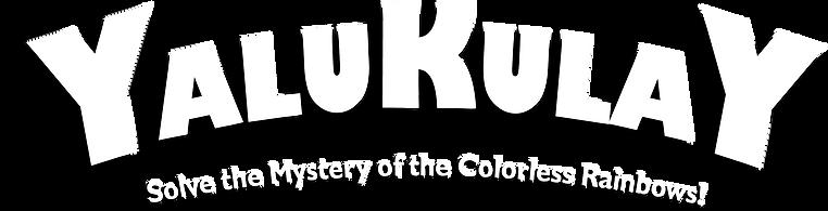 Yalukualy logo.  OHBOYGAMES pemier puzzle book activity game.