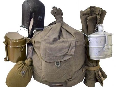 В ассортименте военной продукции местной промышленности значились: гранаты...