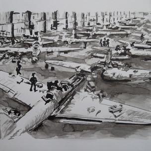 Цех завода № 153 (им. В. П. Чкалова)