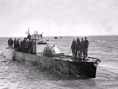 В начале 1942 г. на судоремонтном заводе в Новосибирске заложены четыре бронекатера...