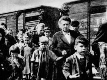 Доля лиц, не достигших 16-летнего возраста, среди депортированного немецкого населения...
