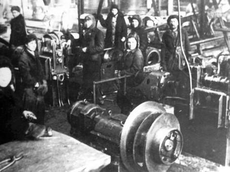 Только в декабре 1942 г. было завершено строительство комбината № 179...