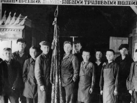 Коллективы заводов оборонной промышленности на 30–50 % состояли из молодых рабочих...