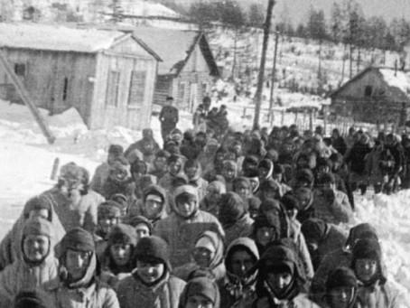 Рабочие Сиблага обеспечивали от 35 до 80 % выполнения «месячной программы» новосибирских заводов...