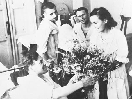 Из «Отчета о работе Новосибирского комитета помощи больным и раненым и командирам Красной Армии»...
