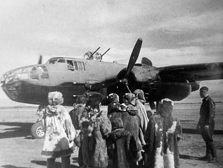 В 1942 г., после заключения соглашения с США о поставке боевой техники по «ленд-лизу»...
