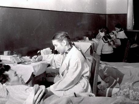 Активисты РОКК[12] только за 1-е полугодие 1943 г. провели 16 400 человекочасов...