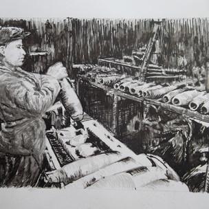 Снарядное производство на комбинате № 179