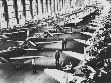 С начала войны Новосибирск стал крупным центром авиационной промышленности...