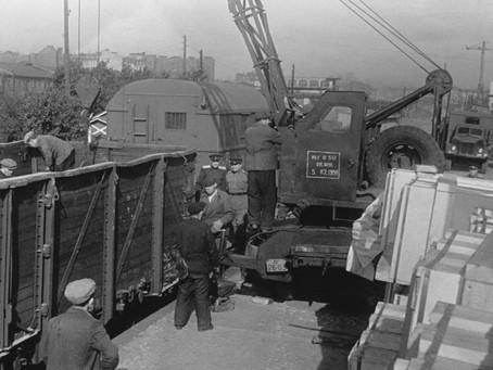 В 1941 г. на долю города выпала трудная задача...