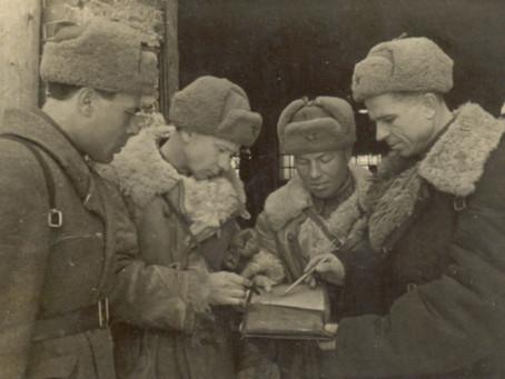 ...Из Москвы было получено согласие на формирование из непризывного контингента...