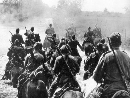 К 15 ноября 1941 г. в г. Новосибирске была сформирована 75-я кавалерийская дивизия...