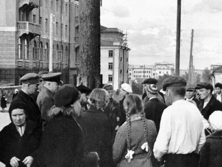 22 июня 1941 г., город Новосибирск. С 12.15 до 12.25 (по московскому времени) горожане...