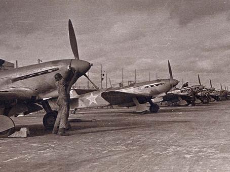 В ходе боев за Сталинград советская истребительная авиация понесла большие потери...