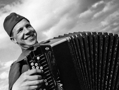 В 1943 г. завершен областной конкурс на оборонную песню...