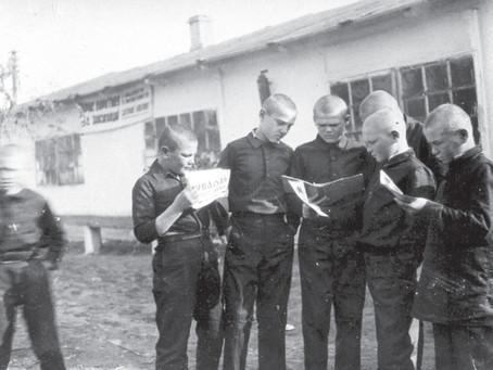 За 9 месяцев 1942–1943 гг. несовершеннолетними в г. Новосибирске совершено 918 преступлений...