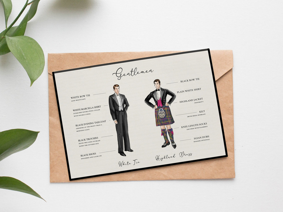 royal caledonian ball gentlemen correct attire