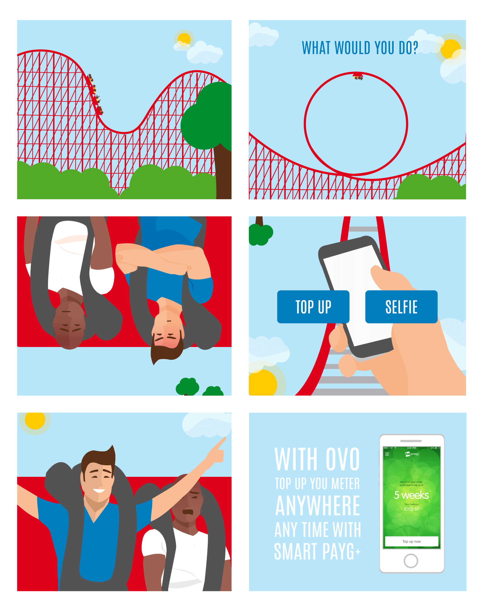 rolercoaster flash ad game