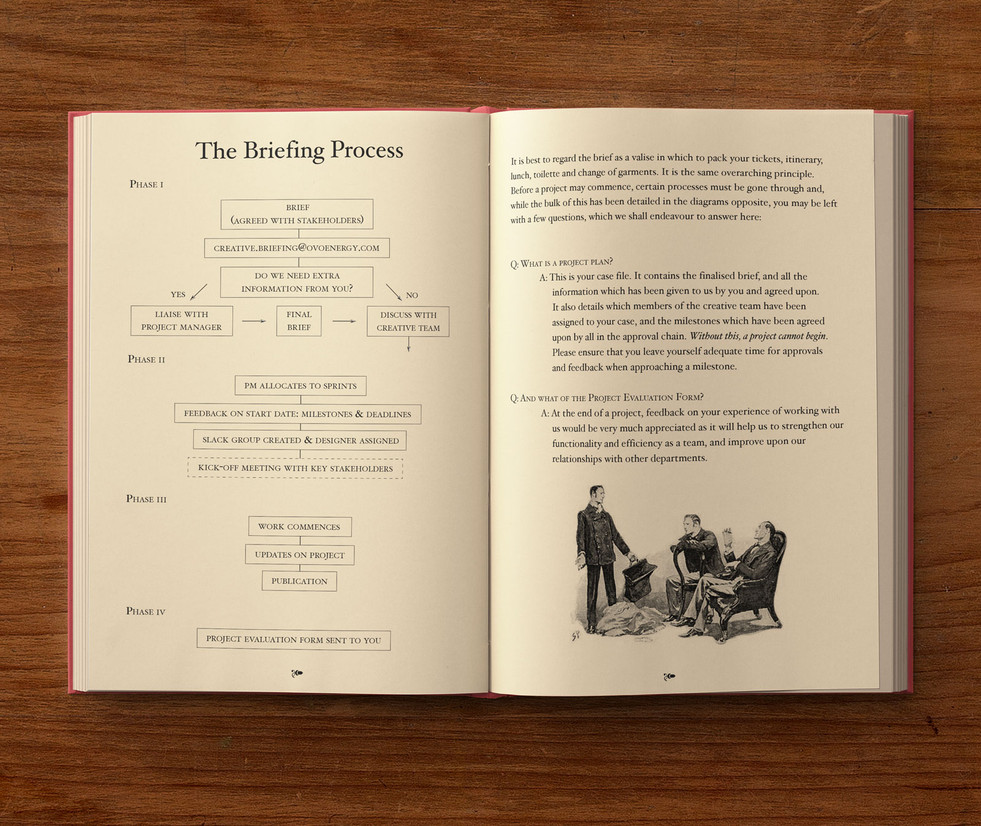 sherlock book inside pages